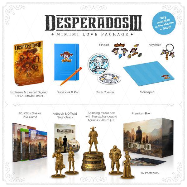 DESPERADOS III, Mimimi Love Package