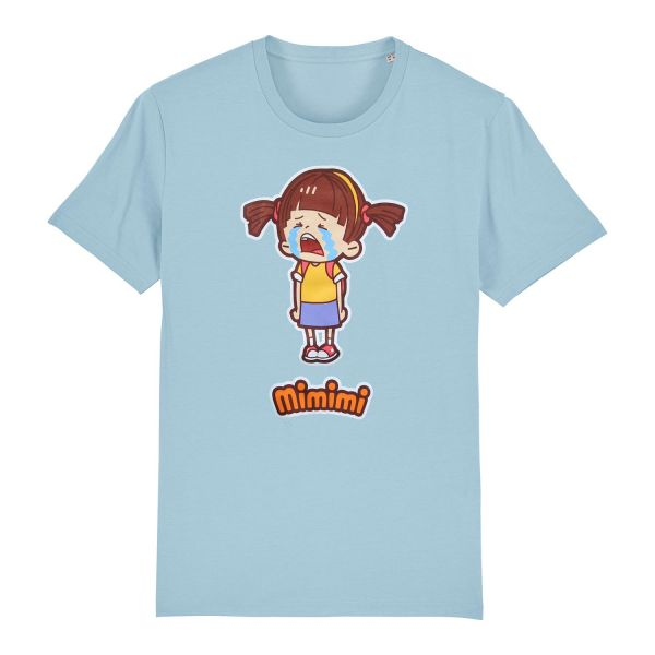 Unisex Organic T-Shirt, himmelblau, Mimi