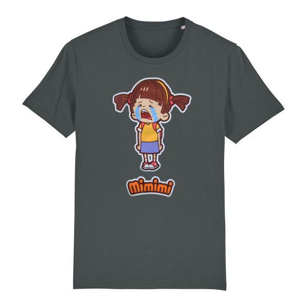 Unisex Organic T-Shirt, anthracite, Mimi